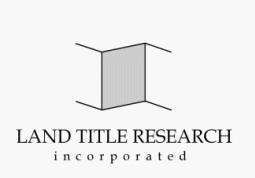 "Land Title Research - ""Your Courthouse Connection"""